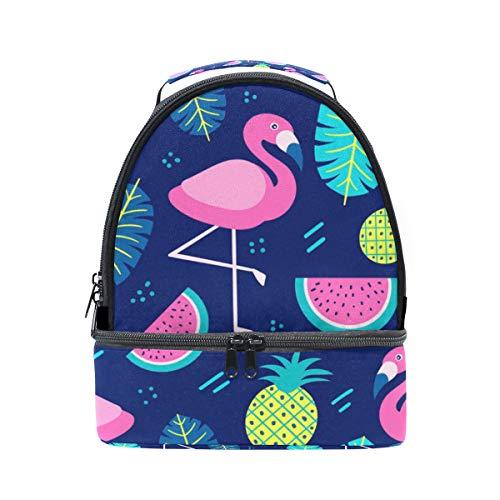 avec réglable à Cooler l'école lunch isotherme à Flamingo Ananas bandoulière Pincnic Boîte Pastèque Folpply Sac pour Tote Hvwq7