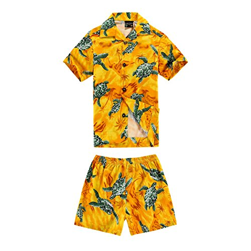 Aloha Fashion Boy Hawaiian Shirt and Shorts 2 Piece for sale  Delivered anywhere in USA