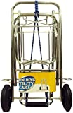 Folding Hand Truck, Utility Cart Opens To 38'' Tall, And Includes Bungee Cord