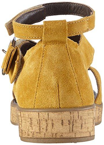 Toe Yellow Sandalen Sterndal 12 Gelb Open Mais Sandals Think WoMen w7OIqnv