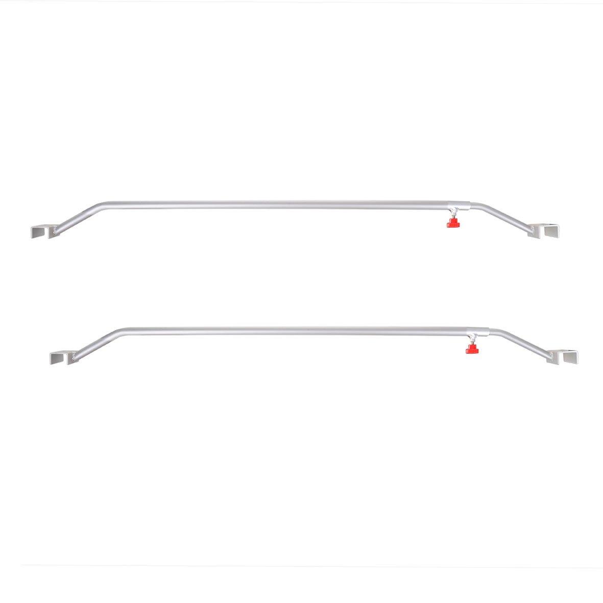 /146/cm Pomello a vite 2/X Ciondolo piatto Plane cinghia tracolla regolabile in alluminio 108/