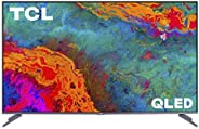 TCL 50-inch 5-Series 4K UHD Dolby Vision HDR QLED Roku Smart TV - 50S535, 2021 Model