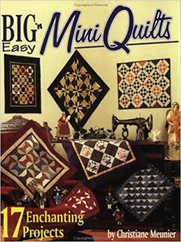 Book Big 'N Easy Mini Quilts