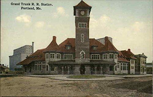 grand-trunk-r-r-station-portland-maine-original-vintage-postcard