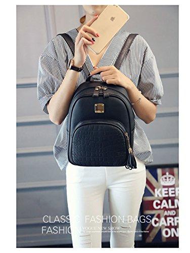 para Bolso Mounter Bags Negro Negro Gris Mujer DH GB3V5 Hombro SB ER2B5 al tRRfwqx6Y