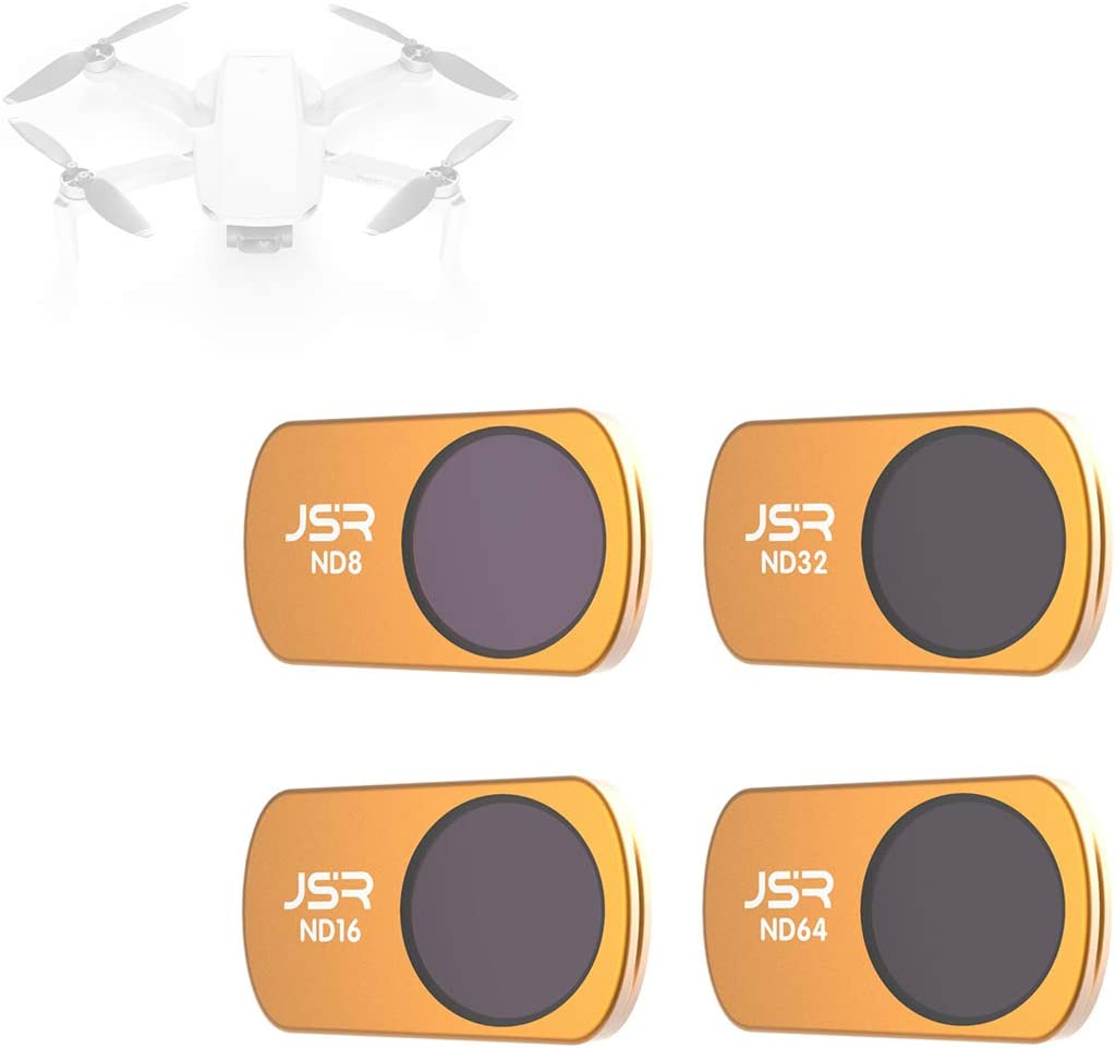 SKYREAT ND Filters Filter Kit for DJI Mavic Air 4-Pack ND4 ND8 ND16 ND32