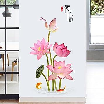 Secondstep Lotus Flower Wallpaper Schmückt Ecke Wall Wand Nudeln