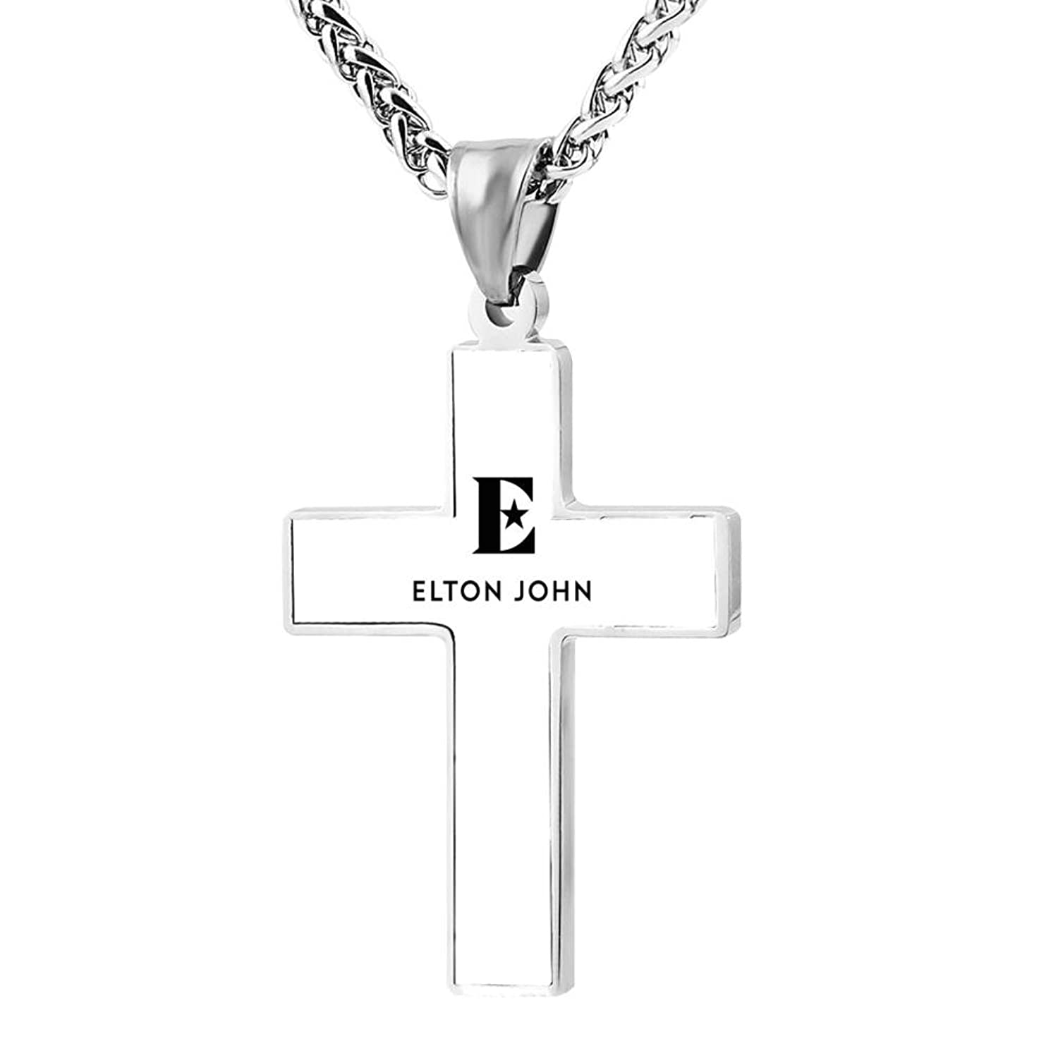 WkOkYkWk cross necklace