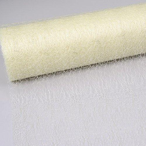 Spiderweb Telaraña Camino de mesa - crema - 30 cm papel de 25 m ...