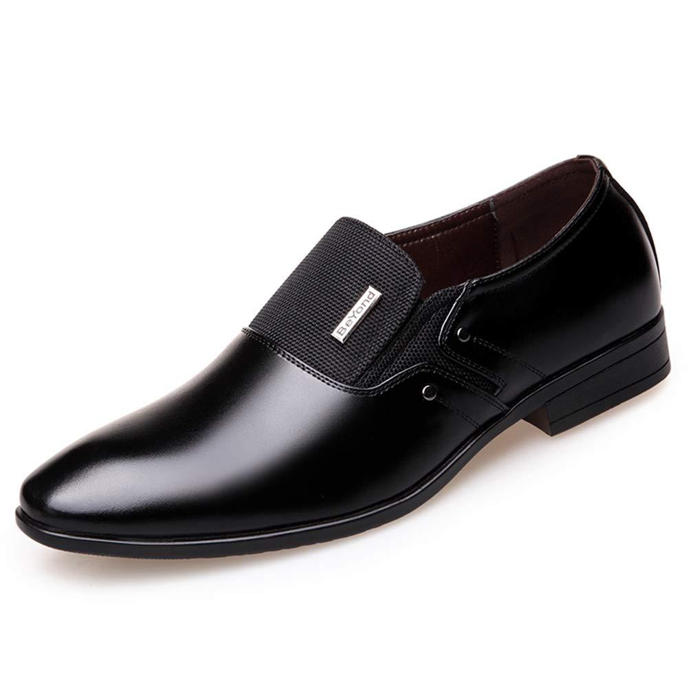 Los Hombres Negocio Zapatos Mocasines De Novia Formal De Hombres OtoñO Primavera 44 EU|J2 Negro