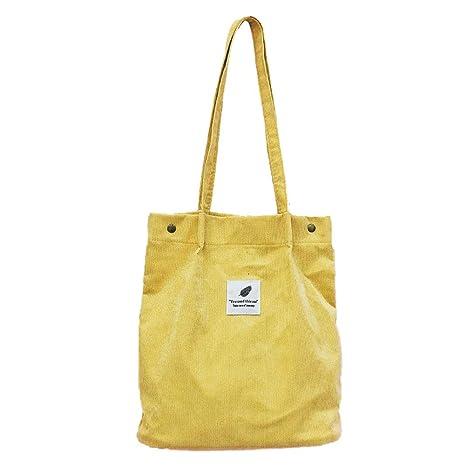 Aisoway Bolsas de Hombro de la Mujer del paño de Eco del ...