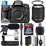 Holiday Saving Bundle for D610 DSLR Camera + 18-140mm VR Lens + Battery Grip + 2yr Extended Warranty + 32GB Class 10 Memory + 72 Monopod + UV Filter + Cleaning Kit - International Version