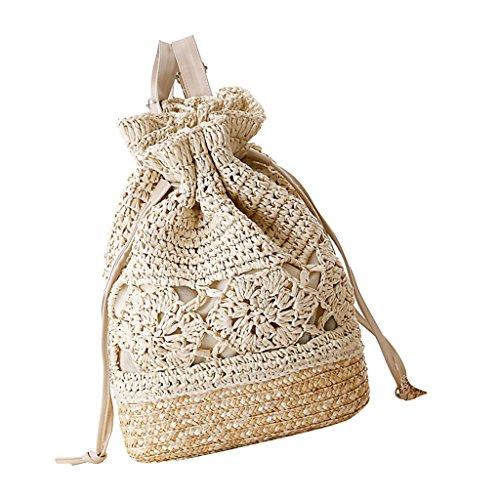 Crochet Drawstring Bag - 2