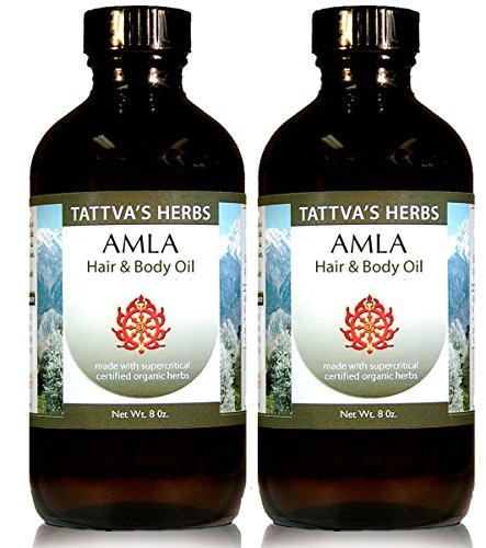 Rejuvenating Amla Hair Oil - Organic 8 oz.(2 - Pack) by Tattva's Herbs