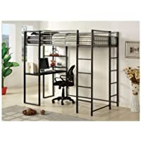 Roc Contemporary Bunk Bed Size: Twin