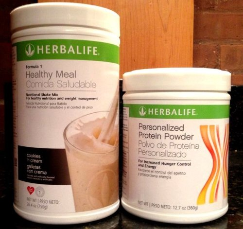 Herbalife Formula1 Nutritional Shake + Personalized Protein Powder (Cookies 'n Cream) (Herbalife Formula 1 French Vanilla Shake Recipes)