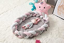 LOAOL Baby Crib Nest Bed Newborn Lounger...