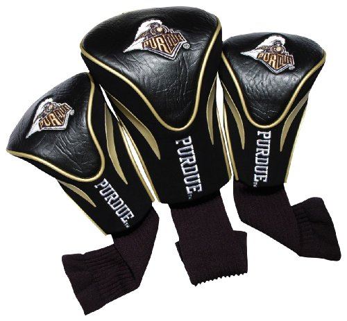 Golf Club Boilermakers Purdue - NCAA Purdue Boilermakers 3 Pack Contour Golf Club Headcover