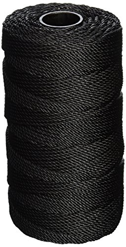 Catahoula Manufacturing no. 36 Tarred Twisted Bank Line, 1 Pound Spool (Approx. 470 feet) - Twisted Nylon Seine Twine