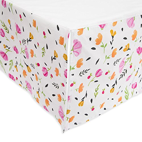 - Little Unicorn Percale Crib Skirt - Berry & Bloom
