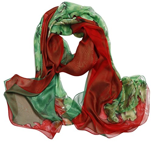 impresa suave Fashion Scarf gasa 22 la Aivtalk o primavera Bufanda Color Woman 140cm Oto larga 180cm para Choice 0qndXn