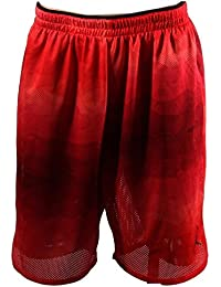 Men's Dri-Fit Nike Fly 2.0 Shorts-Red/Black