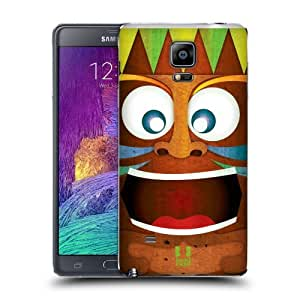 Head Case Designs Crazy Tiki Collection Replacement Battery Back Cover for Samsung Galaxy Note 4