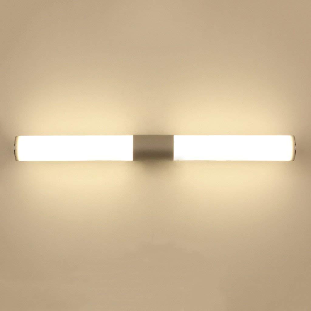 Luces para Espejos de baño Espejo Minimalista Moderno Frente Ligh ...