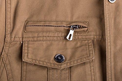 Blousons 002 Printemps Bomber Automne Lightweight Jacket Outdoor khaki Mens Manteaux Veste Homme Militaire 100 Yyzyy Nouveau Léger Cotton zwSaxPq