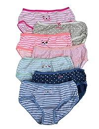Carter's Little Girls' 7 Pack Panties