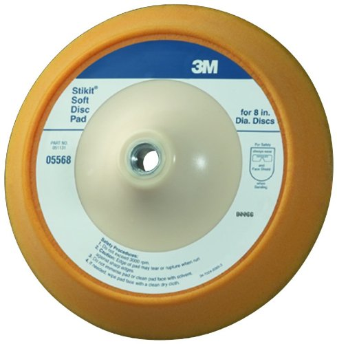 3M 05568 Stikit 8'' Soft Disc Pad by 3M (Image #1)
