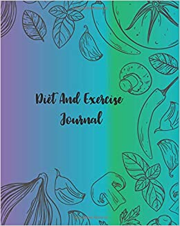 diet and exercise journal meal planner workout log book track your