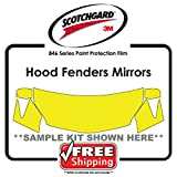 ANY CAR - 3M Scotchgard 846 Series - Hood Fender Tips Mirrors Paint Protection film kit