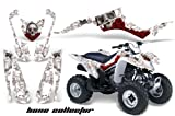 AMR Racing Graphics Kit for ATV Suzuki LTZ 250 All Years BONE COLLECTOR WHITE