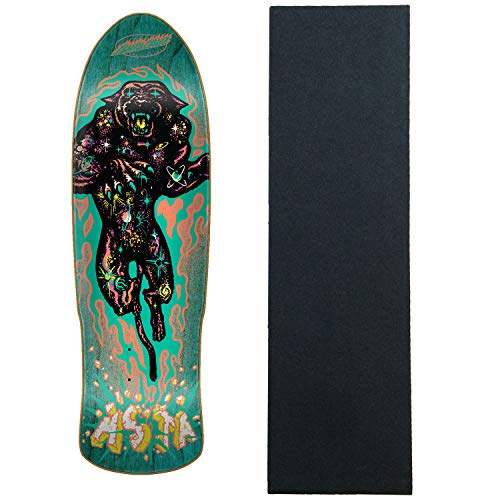 Santa Cruz Skateboard Deck Asta Cosmic Cat Preissue Old School Shape W/Griptape