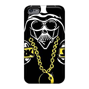 Great Hard Phone Covers For Apple Iphone 6s With Unique Design Realistic Darth Vader Dark Side Bling Series Casesbest88