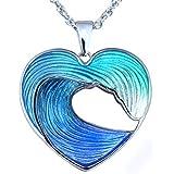 Amazon Com Guy Harvey Enameled Sea Turtle Necklace