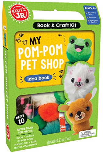 Pom Pom Own - KLUTZ My Pom-Pom Pet Shop Craft Kit