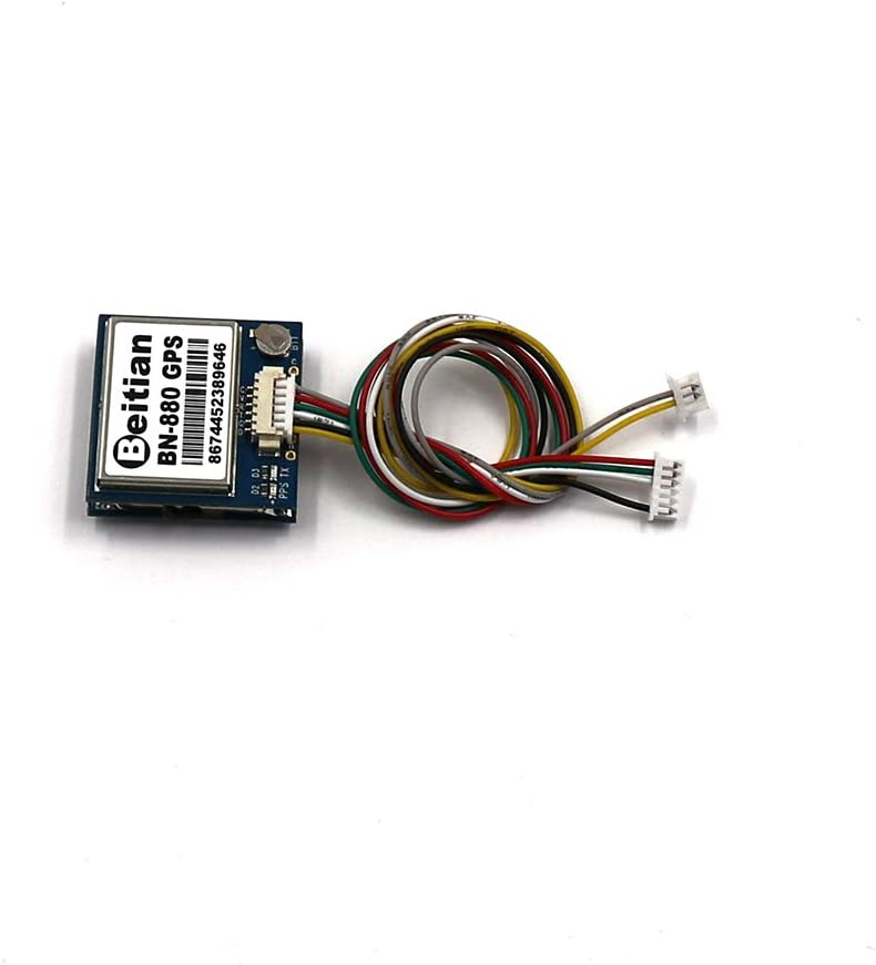 SKlle Beitian BN-880 GPS Module Active Antenna NMEA-0183 Flight Control with Flash Compass HMC5883L AMP2.6//Pix4//Pixhawk Support GPS Glonass Beidou Car Navigation