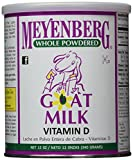 Meyenberg, Goat Milk Whole Powdered Can, 12 OZ (Pack of 12)