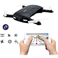 Pocket Selfie Drone Quadcopter, Kingtoys JJRC H37 Elfie Mini Wifi FPV High Hold Mode Selfie 0.3MP Camera Phone Control RC Drones Quad copter RTF Helicopte