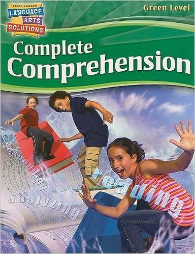 Gratis nedlasting av bøker i pdfSteck-Vaughn Language Arts Solutions: Student Workbook Grade 7 Complete Comprehension (Norsk litteratur) PDF 1419012444