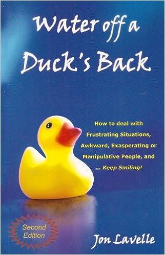 Risultati immagini per water off a duck's back