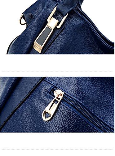 Nouvelles Diagonale 2018 Sacs Tendances à épaule Paquet Mode Loisirs Noir Capacité Grande Sacs Ms ZM Main Printemps UIE5wx6nBq