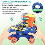 Otw-Cool Adjustable Roller Skates for Boys and