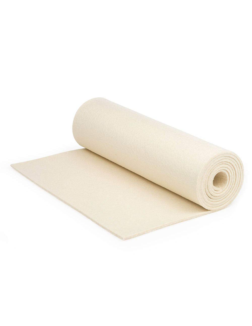 F-10 Industrial Felt by the Foot - 72'' Wide x 1 ft Long x 1/4'' Thick