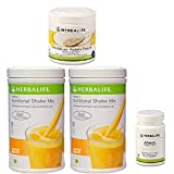 Herbalife Monthly Weight Loss Package: 2 Nos Formula 1 Mango + Personalized Protein Powder PPP + Afresh Lemon