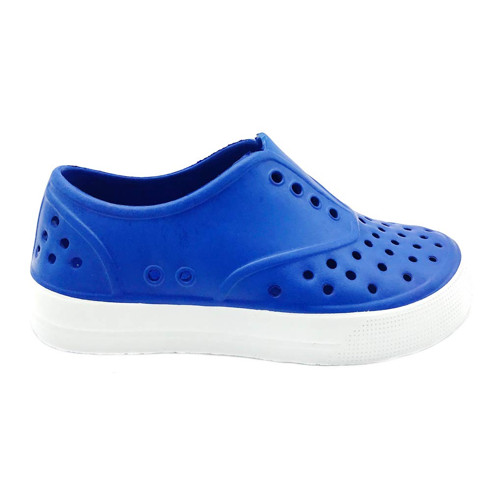 Boys /& Girls Waterproof Breathable Slip On Sneaker PEBBLES SHOES Kids /& Toddler EVA Upper Material and Odor Resistant Footbed with Arch Support Flexible and Lightweight Synthetic Shoe