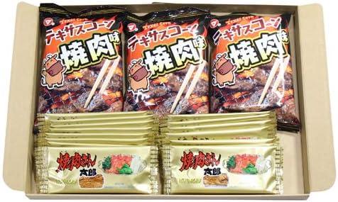 W焼肉セット テキサスコーンBBQ焼肉(3コ)& 焼肉さん太郎(20コ)セット
