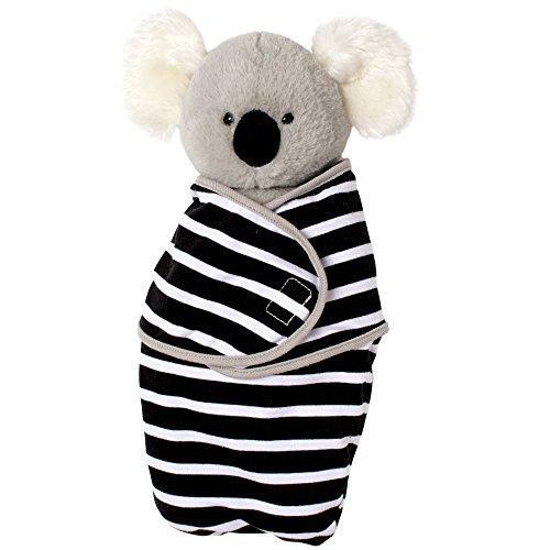 (Manhattan Toy Baby Koala Stuffed Animal Toy with Swaddle Blanket, 11